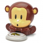 Cute Monkey Design Nail Dryer - Brown 