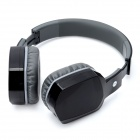 BH260 Folding Bluetooth v2.1 Stereo Headphones w/ Microphone - Black + Grey