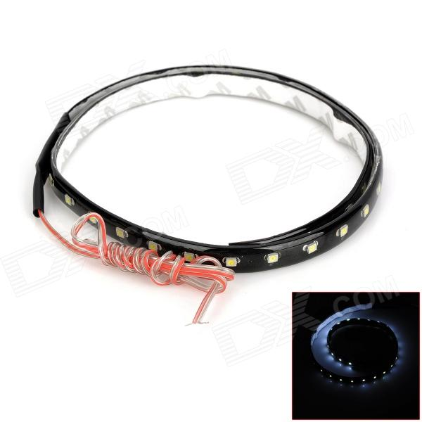6.6W 5000K 352lm 44-SMD 1210 LED White Light Car Flexible Decoration Strip (DC 12V / 40cm)