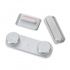 Replacement Vibrator Mute + Volume + Power Button for Iphone 5 - Silver