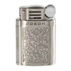 Jobon Trendy Oil Lighter with Flints and Protective Hard Case