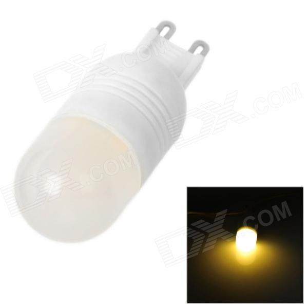 SENCART G9 3W 270lm 3500K 6-SMD 5060 LED Warm White Light Bulb - White (AC 220~240V)