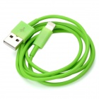 8-Pin Blitz Stecker auf USB Male Charging & Datenkabel für iPhone 5 / iPad Mini - Green (100cm)