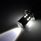 H7 12W 400lm 12-SMD 5050 LED + Cool White Car Foglights (DC 12~24V / 2 PCS)