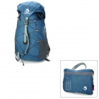 HASKY CY-0927 Outdoor Sports 32L Folding Waterproof Nylon Cloth Shoulder Bag - Dark Blue