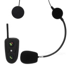 HM-528 BT Interphone + Handsfree Bluetooth V2.1 Set for Motorcycle - Black