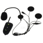 HM-528 BT Interphone + Manos libres Bluetooth V2.1 Conjunto para la motocicleta - Negro