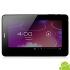 "X5 7"" Capacitive Screen Android 4.0 Tablet PC w/ SIM Slot / TF / Wi-Fi / Camera / G-Sensor - White"