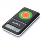 "Amput APTP446 Digital 2.0 ""LCD Pocket Scale - Deep Grey + Silber (2 x AAA)"