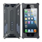 Transformers Design Protective Aluminum Alloy Back Cover Case for iPhone 5 - Black