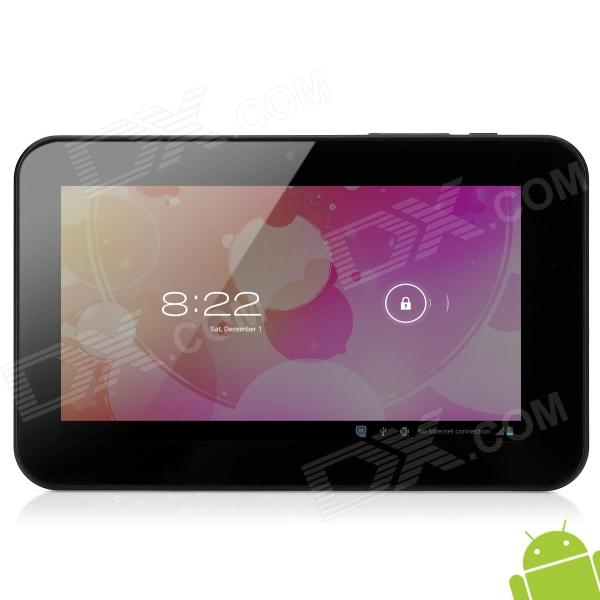 "M710I 7"" Capacitive Screen Android 4.0 Dual Core Tablet PC w/ TF / Wi-Fi / Camera / HDMI - Black"