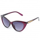 Fashion Cat Eye AC Lens Sunglasses for Women - Purple