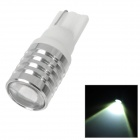 PointPurple T10W-CR-3W T10 3W 100lm 6500K 1-CREE XPE R3 Highlight Warm White Light Car Lamp