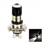 H4 12W 400lm 12-SMD 5050 LED + Cool White Car Foglight (DC 12 ~ 24V)