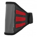 Trendy Sports Mesh-Stil Gym Armband für iPhone 5 - Black + Red