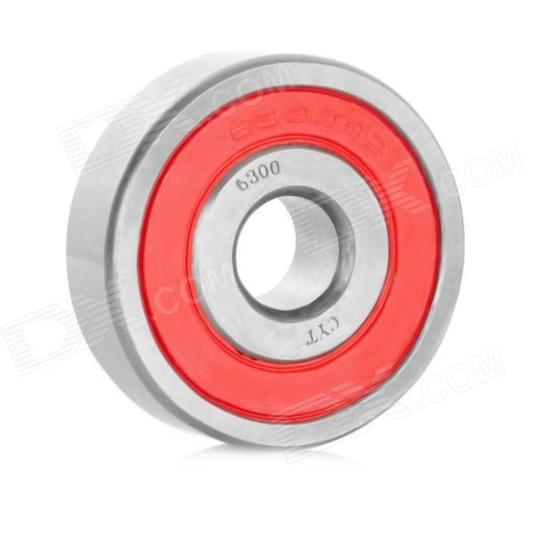CYT 6300 Sealed Ball Bearing for Motorcycle - Red + Silver free shipping 30tm31anx 30x66x17 deep groove ball bearing 30tm31 superior quality