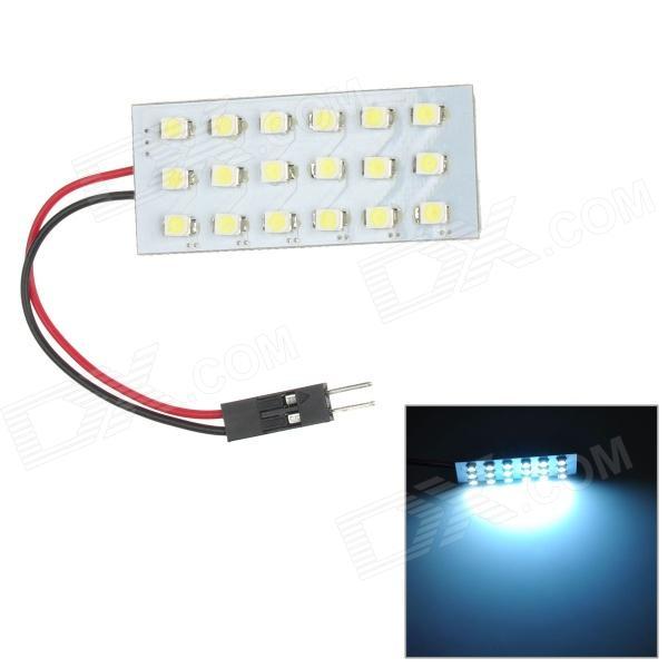 T10 / BA9S / Festoon 1.8W 126lm 18-SMD 1210 LED White Light Car Reading Lamp