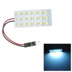 T10 / BA9S / Festoon 1.8W 126lm 18-SMD 1210 LED White Light Car Leselampe