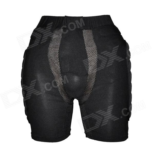 YW-094 Outdoor Skiing / Skating Hip Protector Pads Pants - Black (Size M)