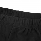 NUCKILY Bike Bicycle Cycling Riding Lycra Shorts - Black (Size L)