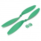 "HJ 12X3.8"" 1238 Carbon Fiber Propellers for Multi-axis Aircraft - Green (2 Pairs)"