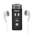 Singing Mini Karaoke Condenser Microphone for iPhone 5 + More - Black