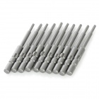 ABC Electric Screwdriver Hex Bits Set - Grey (4mm-Shank / T6)