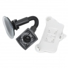 Suction Cup Car Swivel Mount Holder for Iphone 5 - White + Black