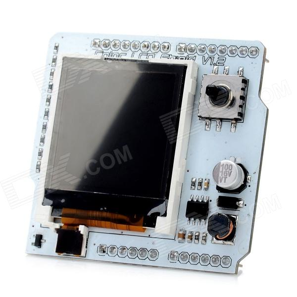 DIY Color LCD Shield Nokia 6100 Expansion Board - White nokia 5110 lcd module white backlight for arduino uno mega prototype