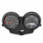 AK-MY-063 Motorcycle Speed Pointer Odometer Instrument Panel for TITAN 2000 - Black