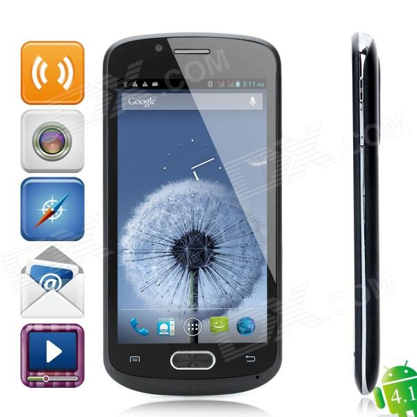 "CUBOT A8809 Android 4.1 Smartphone w/ 4.7"" Capacitive Screen, Dual-SIM, Wi-Fi and GPS - Black"