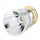 Cree XR-E Q5 248lm 2-Mode White Light Lamp Head Drop-In Module - Silver