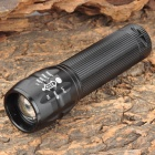 T30 600lm 3-Mode White Zooming Flashlight - Black (1 x 18650 / 3 x AAA)