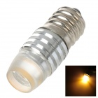 SENCART E12 1.5W 90lm 3000K 1-LED Warm Light Decoration Lamp - Silver