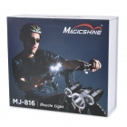 MAGICSHINE MJ-816 Z7 & 1400lm 3-Mode 3-LED Branco Bike Light (4 x 18650)