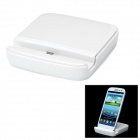 Mini Charging & Data Transmission Dock Cradle für Samsung N7100 / S3 - White