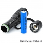UltraFire 840lm 5-Mode White Zooming Flashlight - Black (1 x 18650 / 3 x AAA)