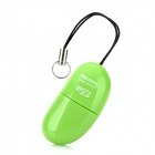 Cute Pea Style USB 2.0 TF Card Reader w/ Strap - Green