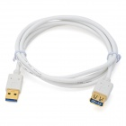 USB 3.0 Male to Female AM-AF Data Cable - White (1.5m)