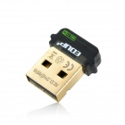 EDUP EP-N8508GS Mini USB 2.0 150 Мбит 802.11 B / G / N Wi-Fi Wireless Network Adapter - Black