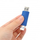 USB 3.0 Male to USB 3.0 Male Extension Converter Adapter - Blue