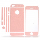 ISME Shining Full Housing Decoration Paper Stickers for iPhone 5 - Pink