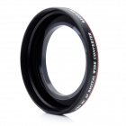 52mm 0.45X Super Thin Wide Angle Conversion Lens - Black