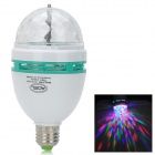 E27 3W 150lm 3-LED RGB Light Stage Lamp - White (85~260V)