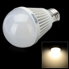 E27 9W 720lm 3300K 40-2835 SMD LED Warm White Light Bulb (AC 100~240V)
