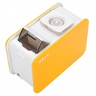 Stylish AC Powered Ultrasonic Anion Air Humidifier - Yellow