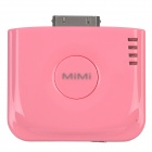 Stylish External 2000mAh Emergency Power Battery Charger for iPhone 4 / 4S - Pink