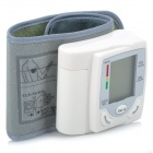 "HQ806 1.7"" LCD Digital Automatic Wrist Style Blood Pressure Monitor - White (2 x AAA)"