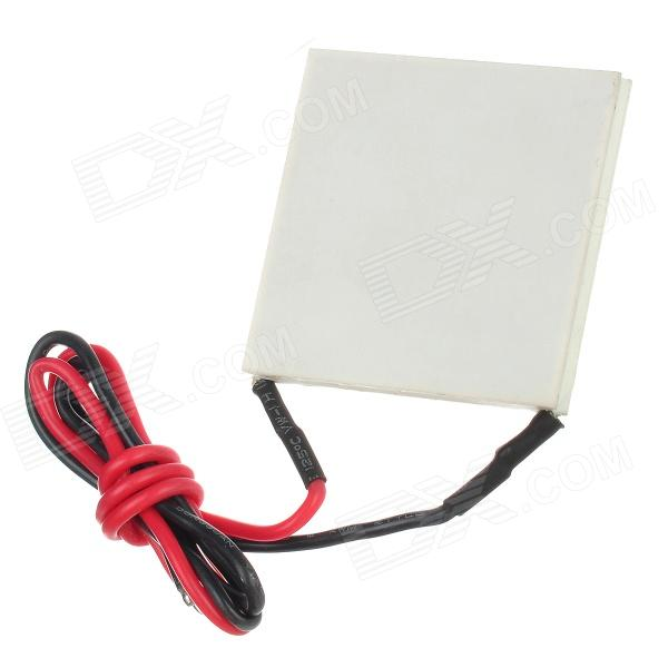 F40550 High Temperature Power Generation Thermoelectric Cooling Module - White freeshipping tec2 25408 70w 30 degree double deck thermoelectric cooler cooling peltier