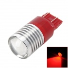 PointPurple T20DW-CR-5W(7443) T20 5W 180lm 660nm Highlight Red Light Car Lamp Bulb - Red